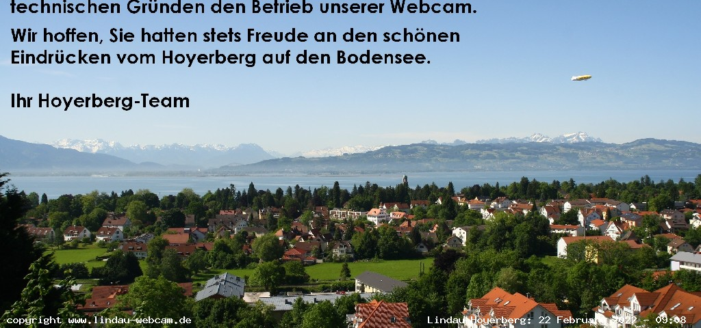 Lindau webcam - Lindau-Hoyerberg panorama webcam, Bavaria, Lindau